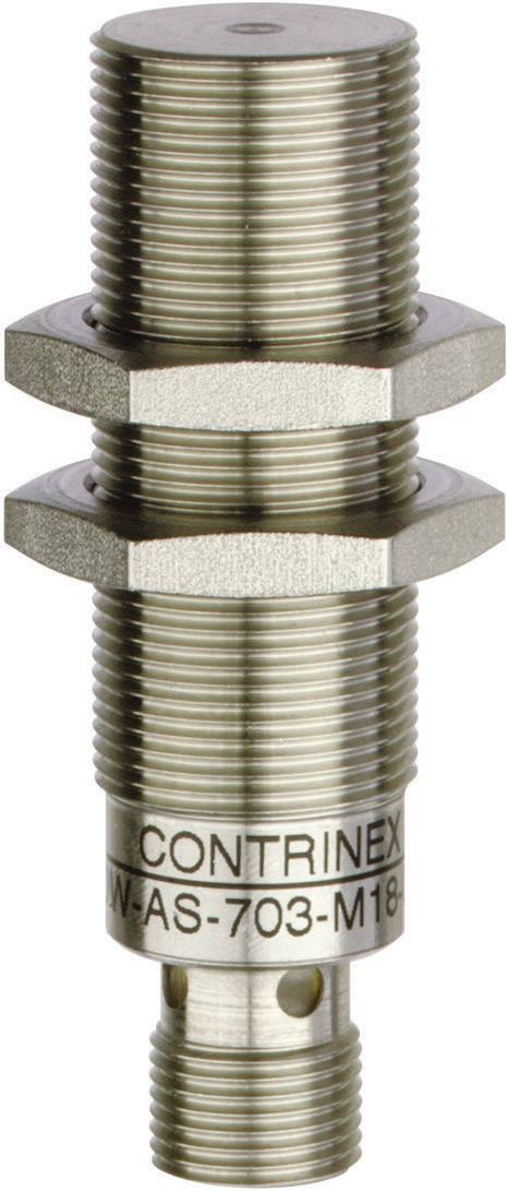 Indukčný senzor priblíženia Contrinex 320-420-228, M18, spínacia vzdialenosť (max.) 10 mm