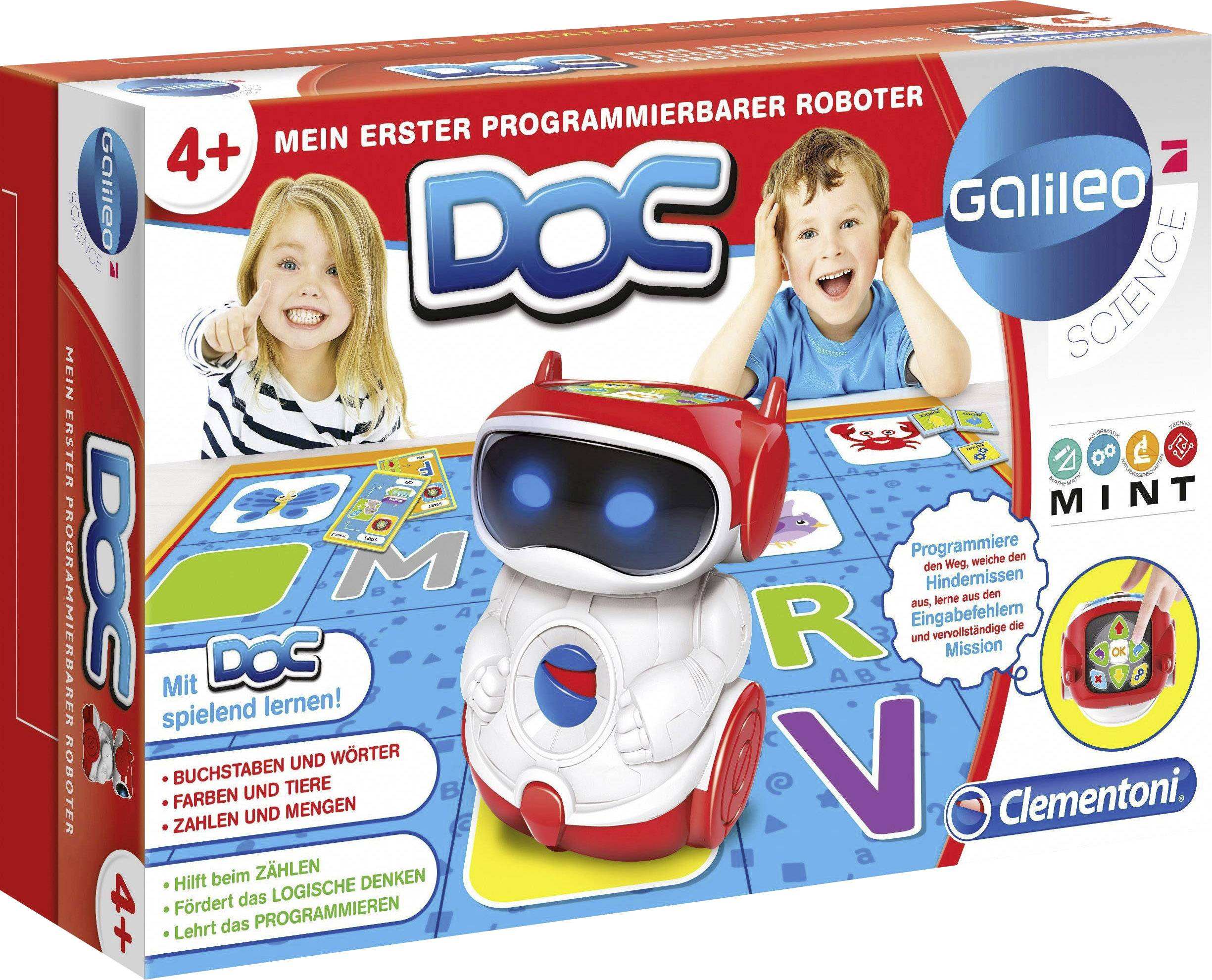 Hračka robota Clementoni Mein erster Roboter 59027
