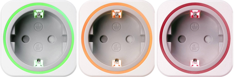 Zásuvkový měřič spotřeby el. energie a spínací zásuvka 2v1 VOLTCRAFT SEM6000, s Bluetooth