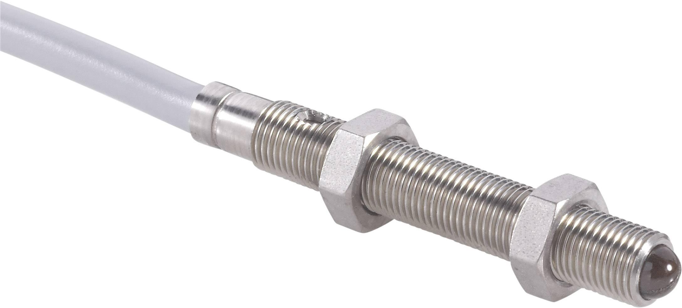 Miniaturní reflexní optický snímač Contrinex LTK-1050-303-506, kabel 2 m, dosah 20 mm