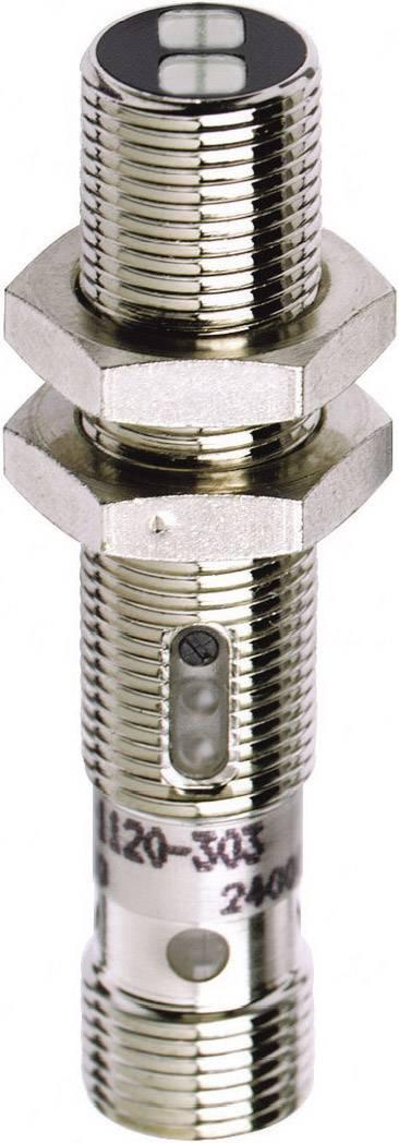 Reflexní optický snímač série M12 Contrinex LTS-1120-303, konektor M12, dosah 300 mm