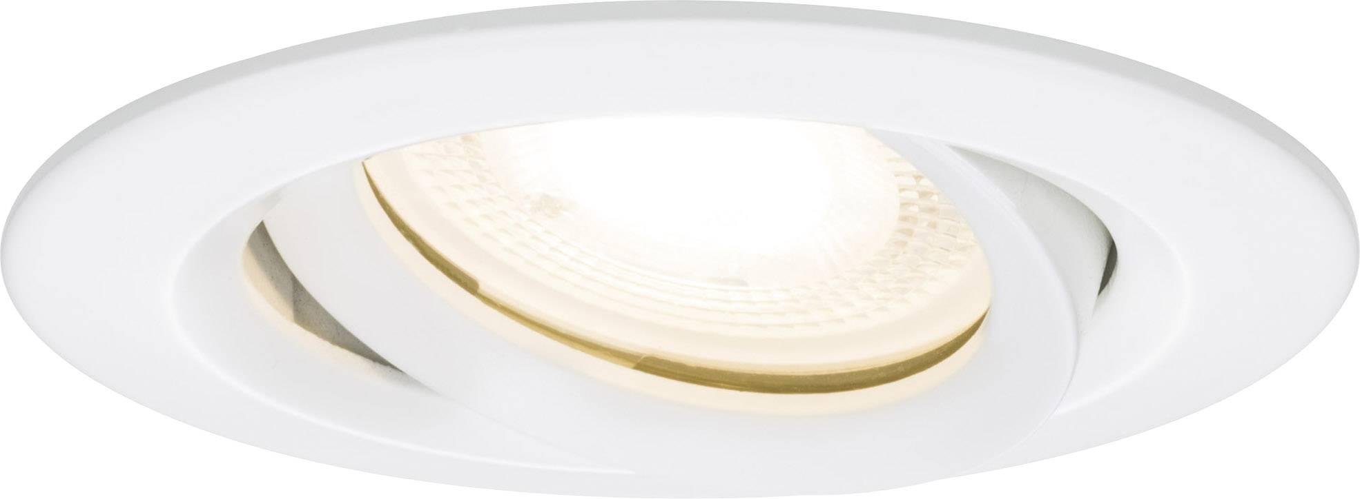 Vestavné svítidlo do koupelny - LED Paulmann Nova 92898, 21 W, sada 3 ks, bílá (matná)