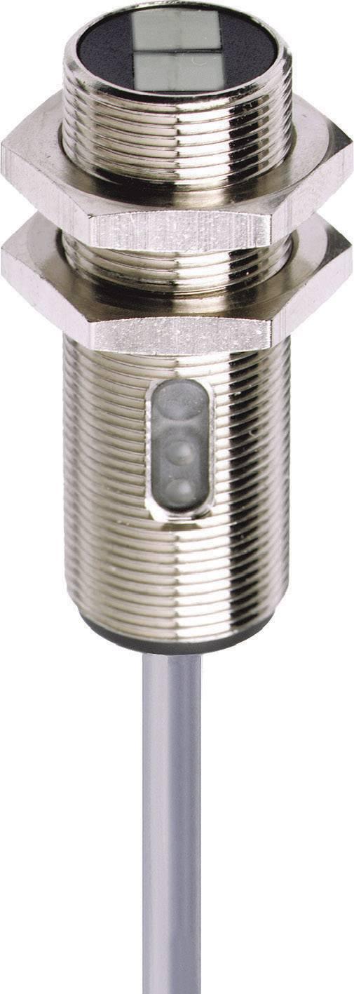 Reflexní optická závora série M18 Contrinex LRK-1180-304, kabel 2 m, dosah 2 m