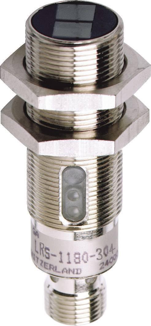 Reflexní optická závora série M18 Contrinex LRS-1180-304, konektor M12, dosah 2 m