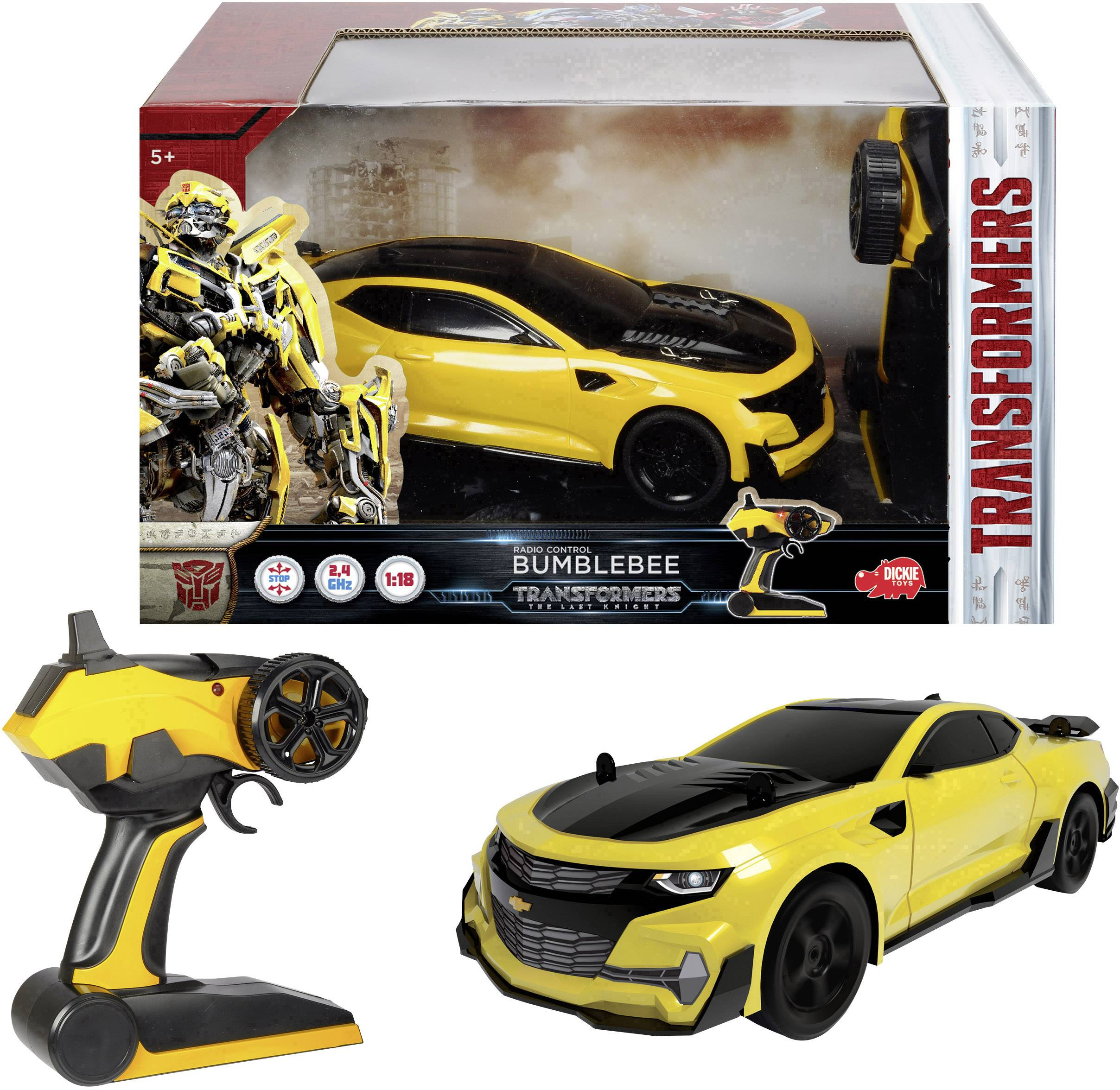 RC model auta cestný model Dickie Toys RC Transformers Bumblebee 203117001, 1:18