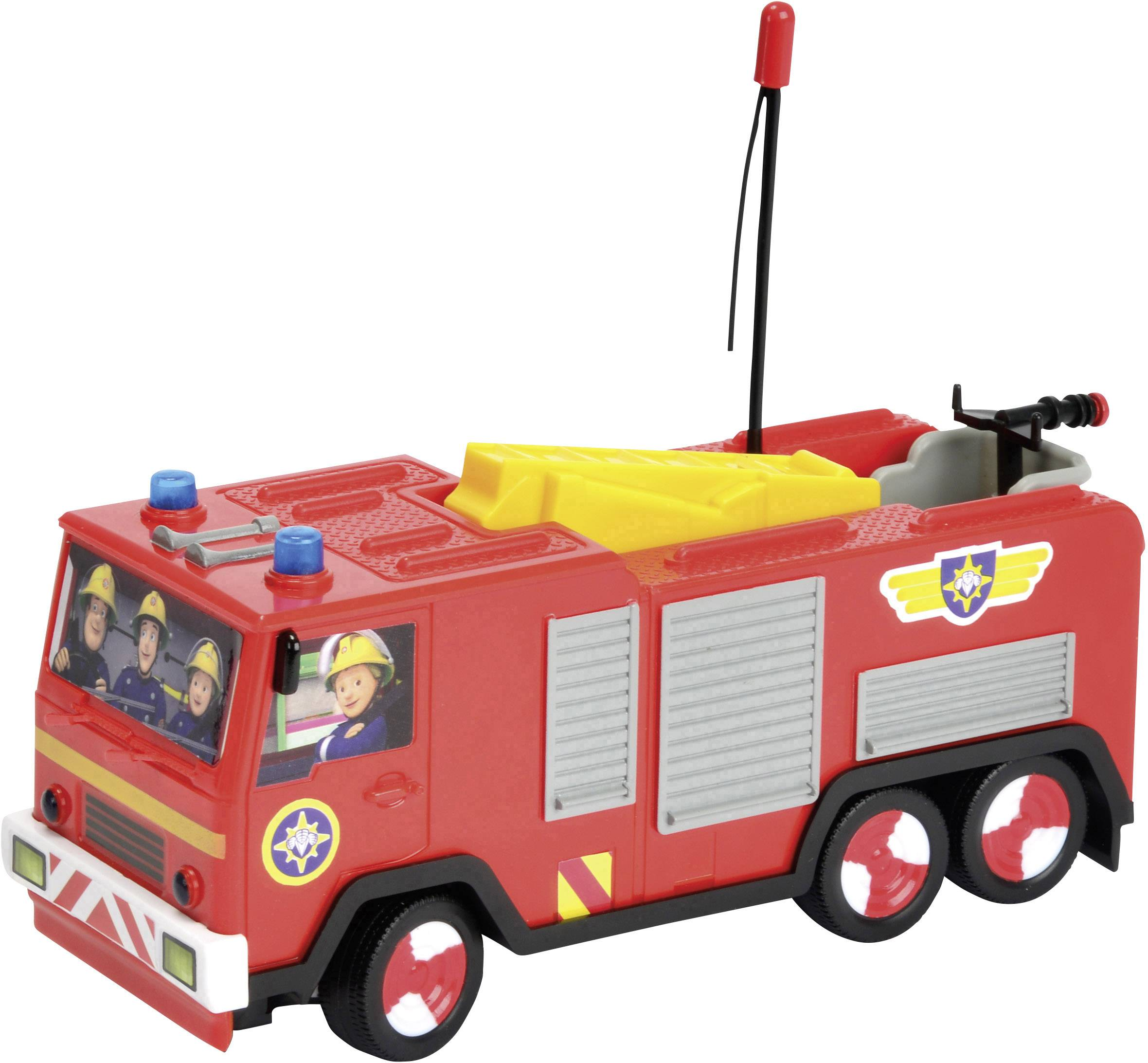 RC model auta Dickie Toys 203099612 – hasičský vůz RC Feuerwehrman Sam Jupiter