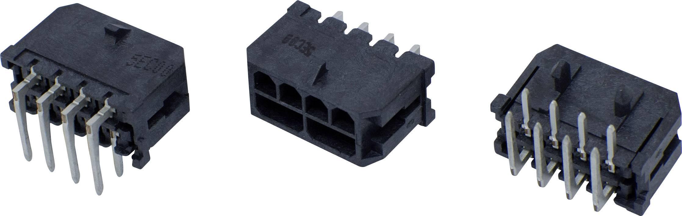 Pinová lišta (štandardná) BellWether 70095-0408, pólů 4, rozteč 3 mm, 1 ks