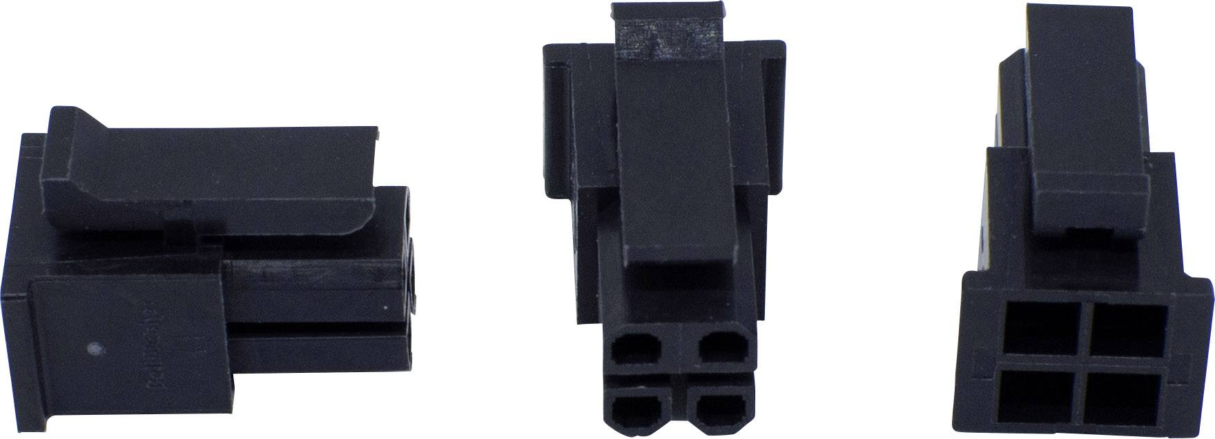 Zásuvkový konektor na kabel BellWether 70093-0800, pólů 8, rozteč 3 mm, 1 ks