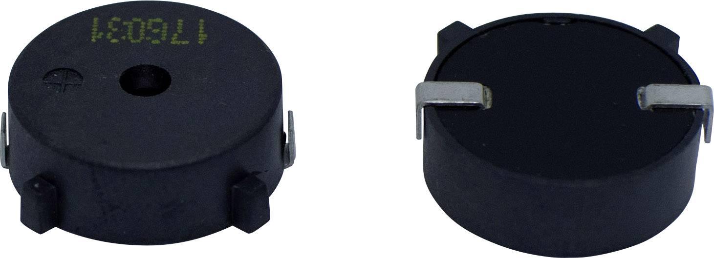 Vysílač signálu SMD Cre-sound LPT1760CS-HS-12-4.0-15-R-1, 12 V, 90 dB, nepřerušovaný tón, 1 ks