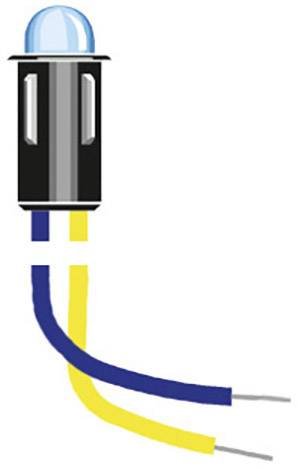 Indikační LED Oshino MD-577R2, 12 V/DC, červená