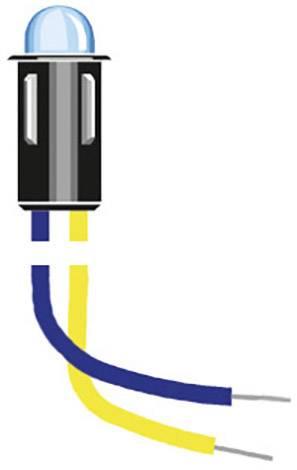 Indikační LED Oshino MD-577UB2, 12 V/DC, modrá