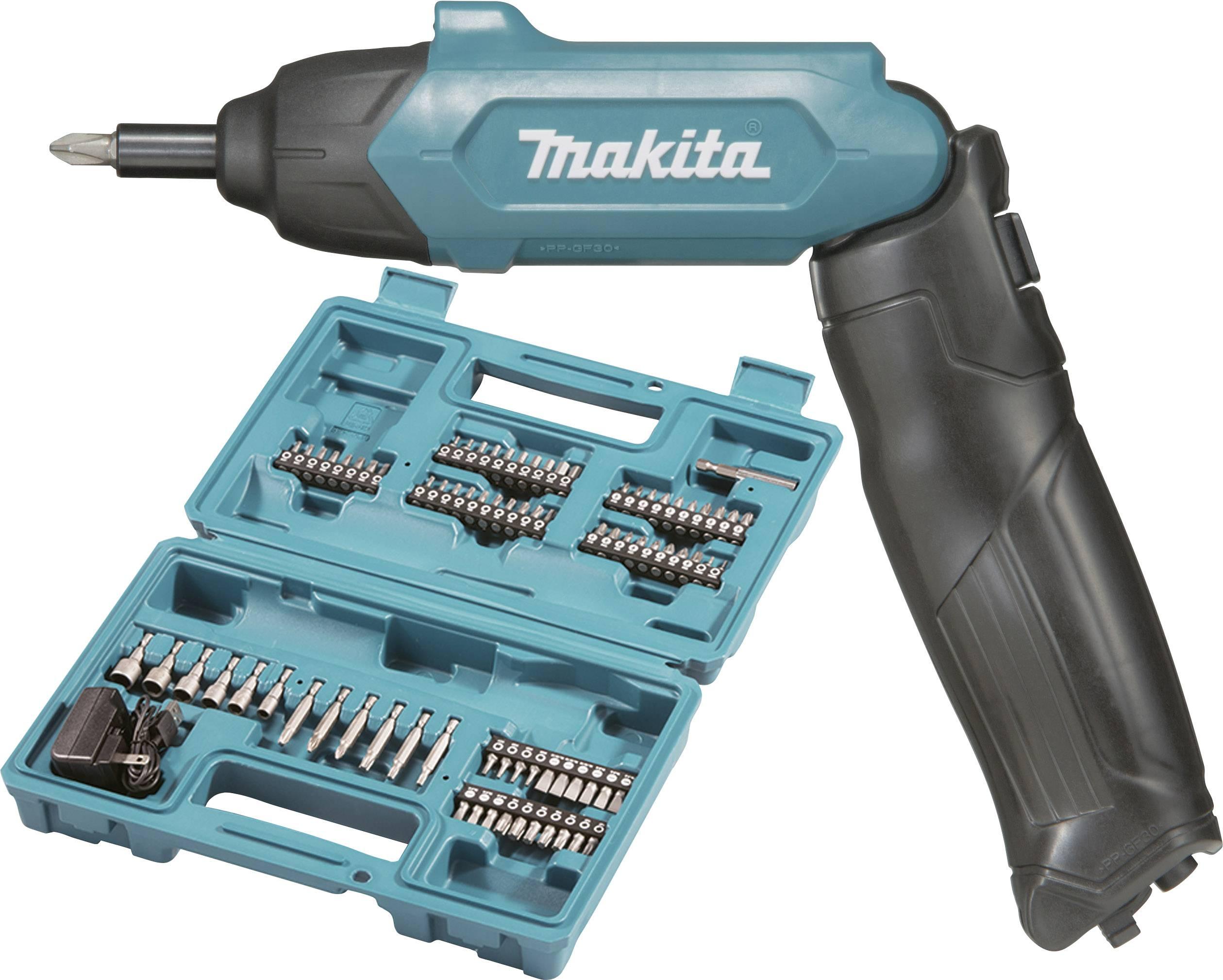 Aku tyčový skrutkovač Makita DF001DW DF001DW, 3.6 V, 1.5 Ah, Li-Ion akumulátor