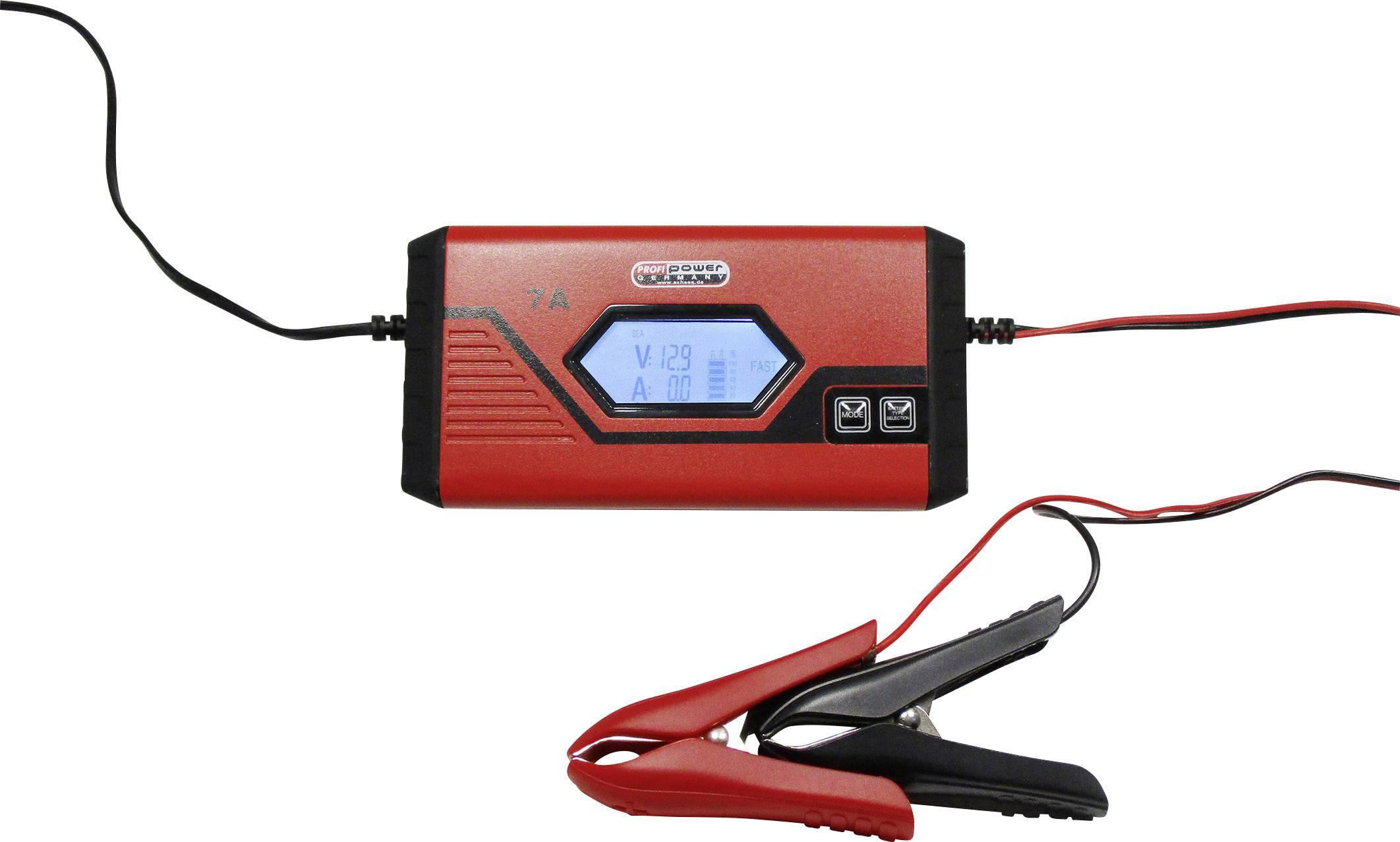 Nabíječka autobaterie Profi Power 2913908, 12 V, 3.5 A, 7 A