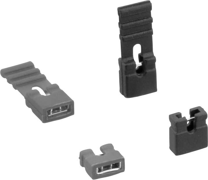 Skratovací mostík TRU COMPONENTS TC-07021-301-20-00, raster: 2 mm, 1 ks
