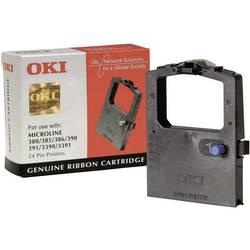 Barevná páska OKI 09002309 ML380 ML385 ML390 ML391 ML3390 ML3391, originál, černá 1 ks