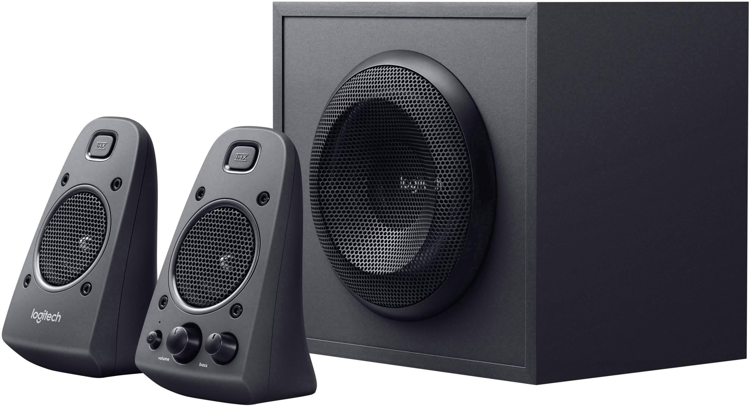 PC reproduktory Logitech Z625, káblový, 200 W, čierna