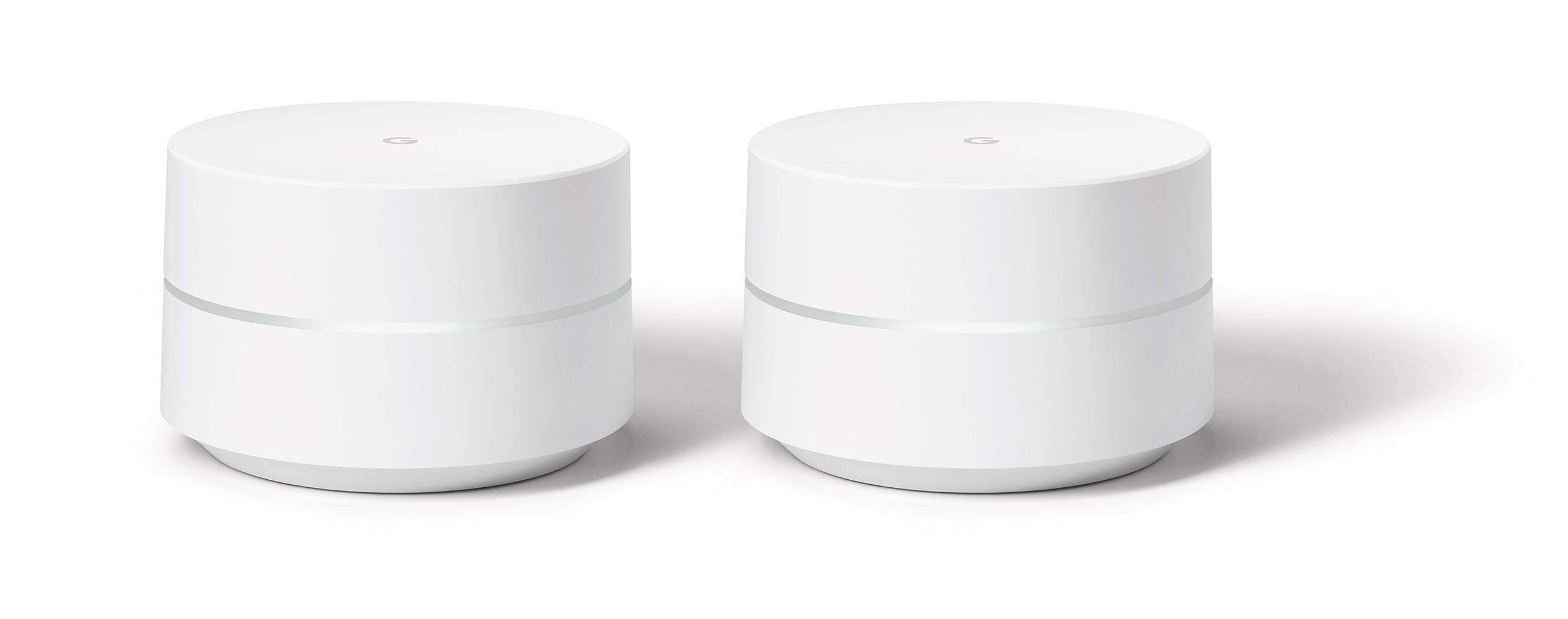 Wi-Fi router Google Wifi GA00190-DE, 2.4 GHz, 5 GHz, výhodna sada 2 adaptérov