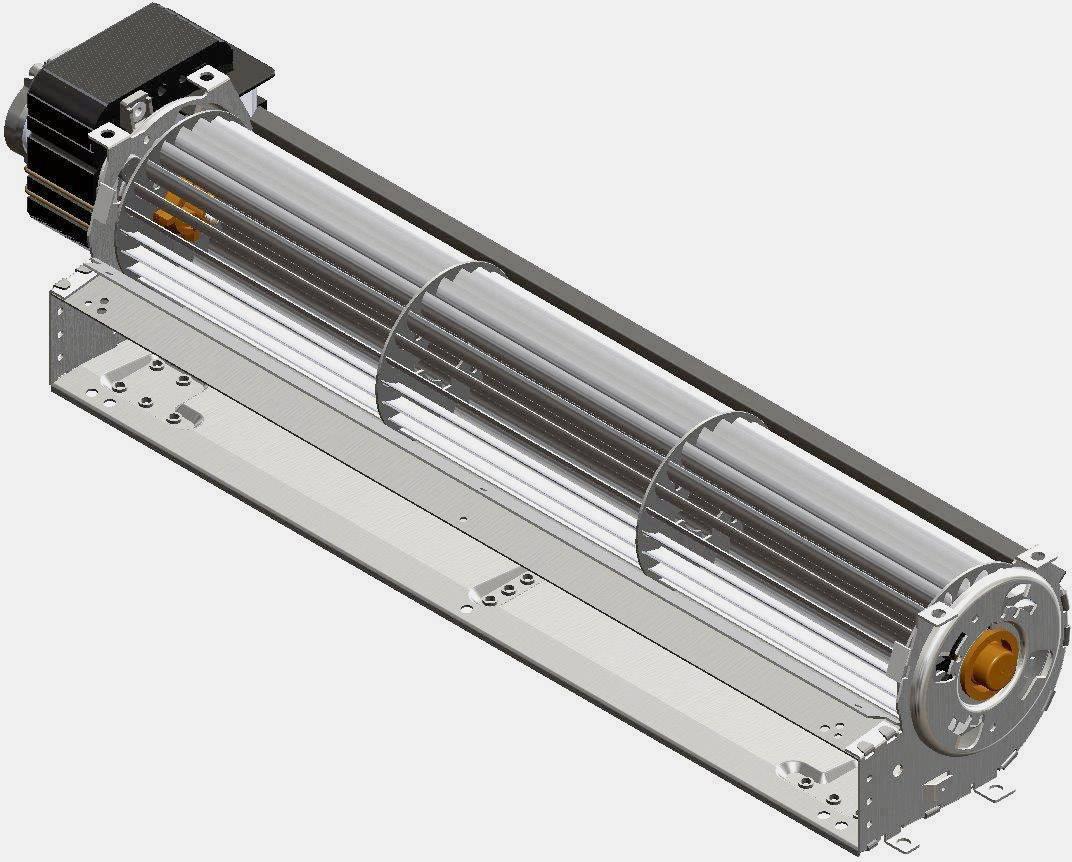 Tangenciání ventilátor motor vlevo 230 V/AC Trial TAS36B-003