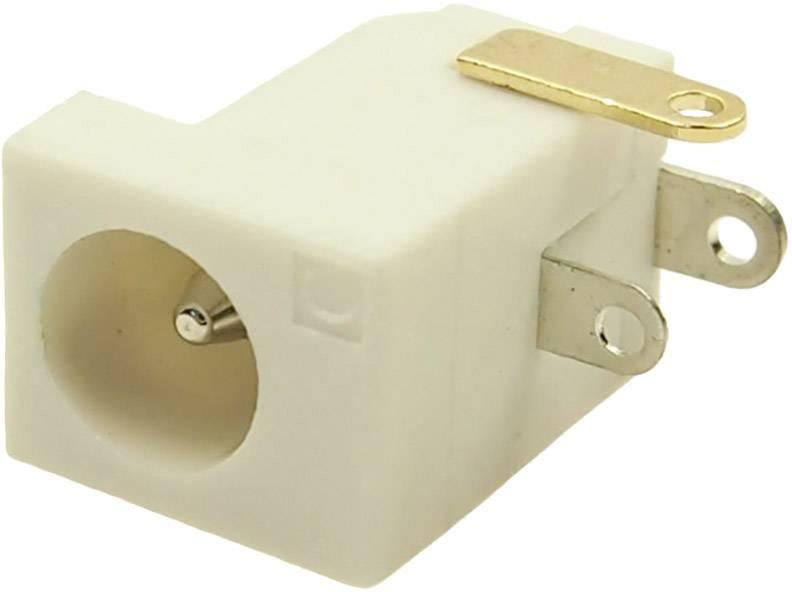 Nízkonapěťový konektor Cliff FCR681466 , zásuvka, vestavná horizontální, 4 mm, 2.1 mm, 2.5 mm, 1 ks