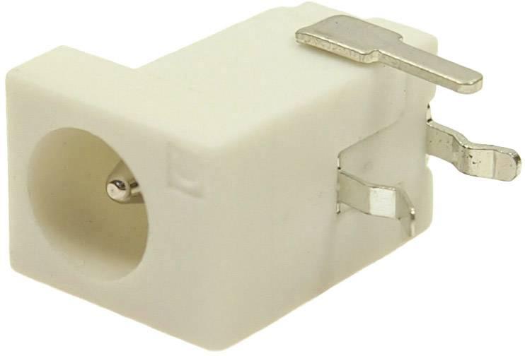 Nízkonapěťový konektor Cliff FCR681466P, zásuvka, vestavná horizontální, 4 mm, 2.1 mm, 2.5 mm, 1 ks