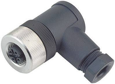 Neupravený zástrčkový konektor pre senzory - aktory Binder 99-0524-24-04, 1 ks