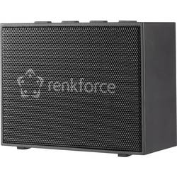 Bluetooth® reproduktor Renkforce BlackBox1 hlasitý odposlech, AUX, černá