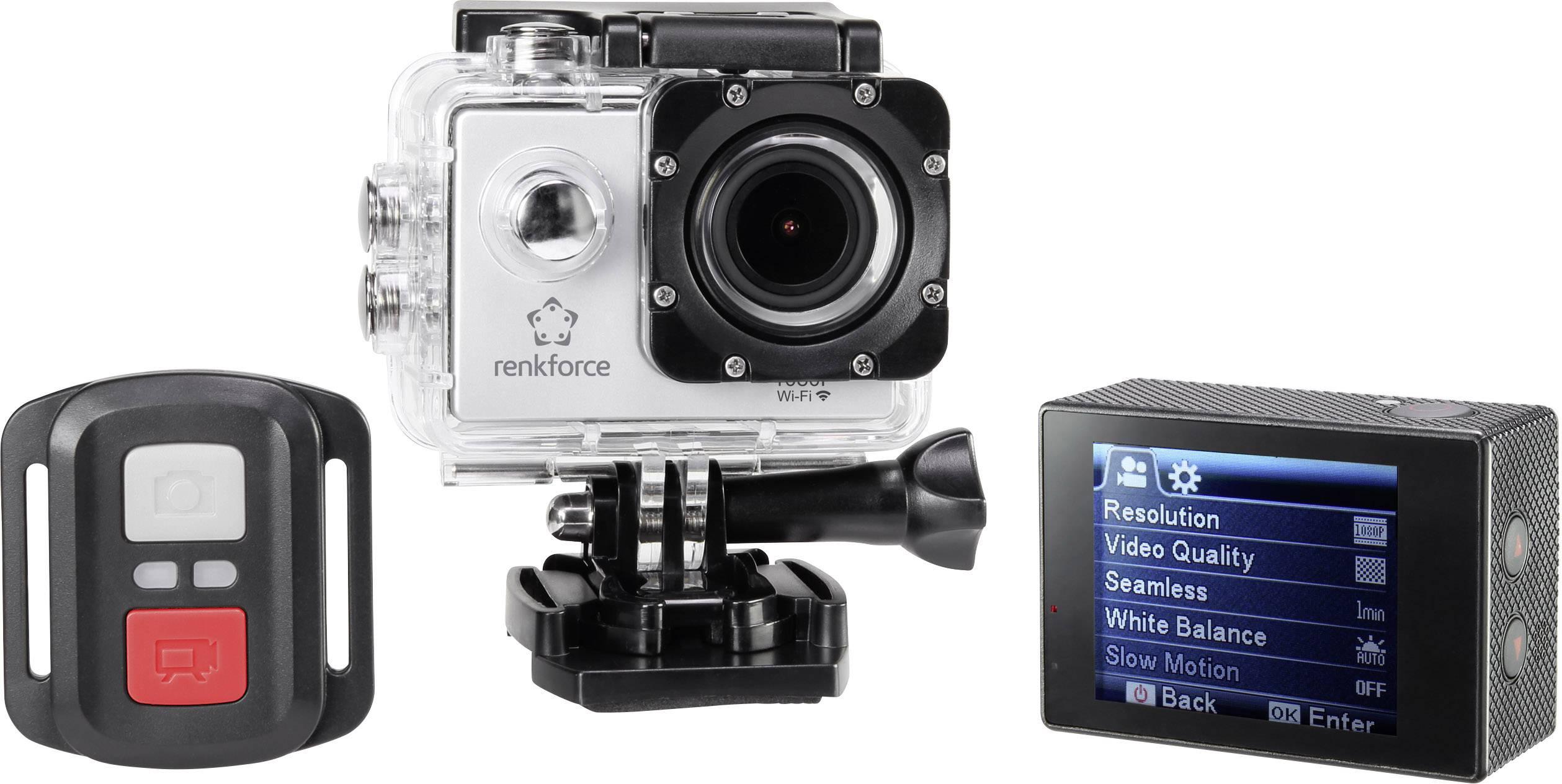 Sportovní outdoorová kamera Renkforce RF-AC-1080P