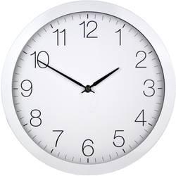 DCF nástenné hodiny EUROTIME 59800, vonkajší Ø 300 mm, biela