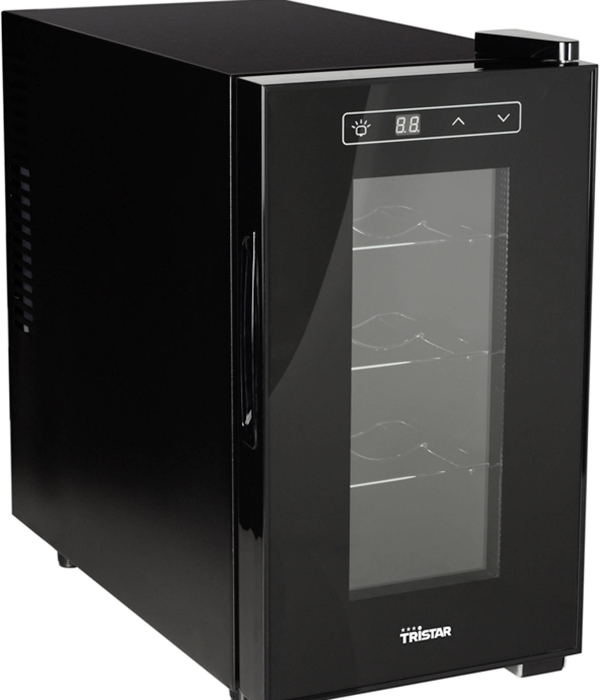 Chladnička na víno Tristar WR-7508, en.třída: A+, 21 l, černá