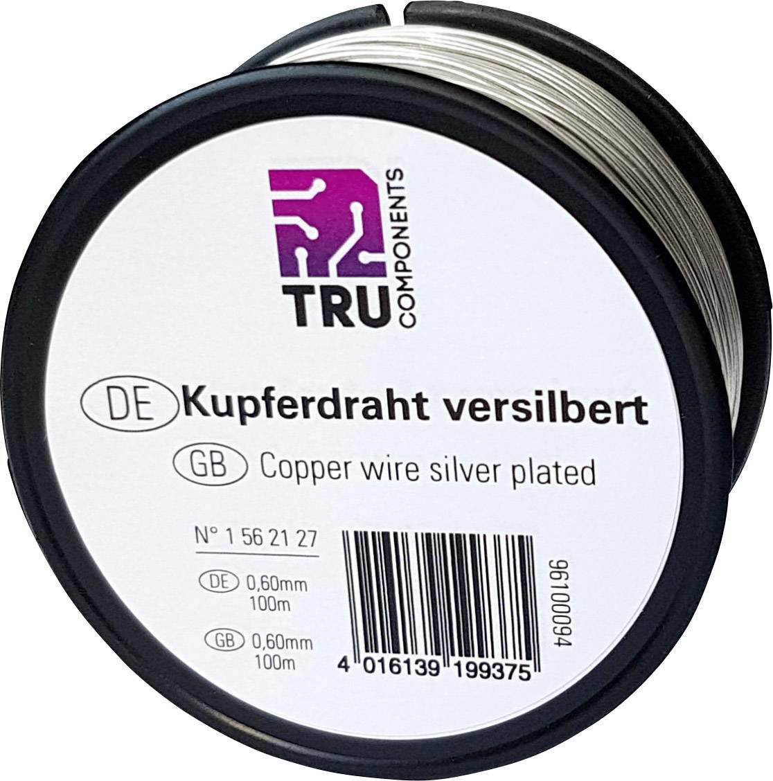 Medený drôt TRU COMPONENTS 1562130, 50 m