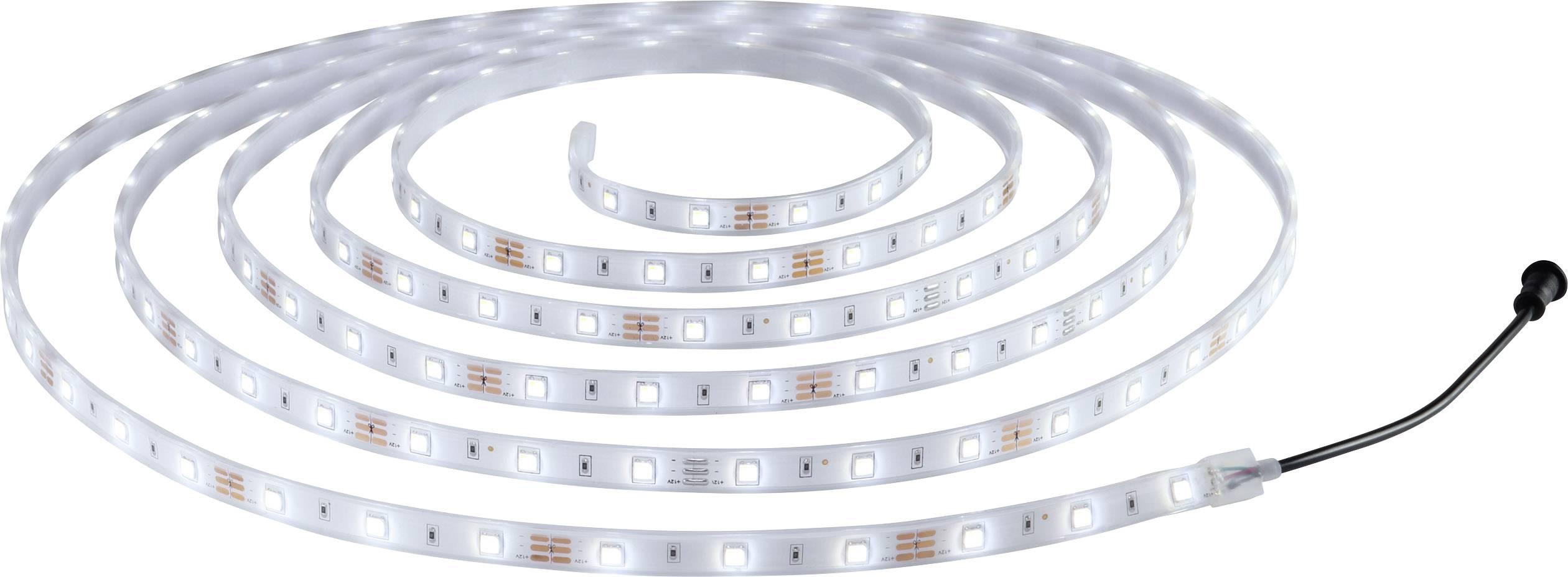 Kompletní sada LED pásků Polarlite M50 12 V/DC, 14 W, studená bílá, teplá bílá, 500 cm