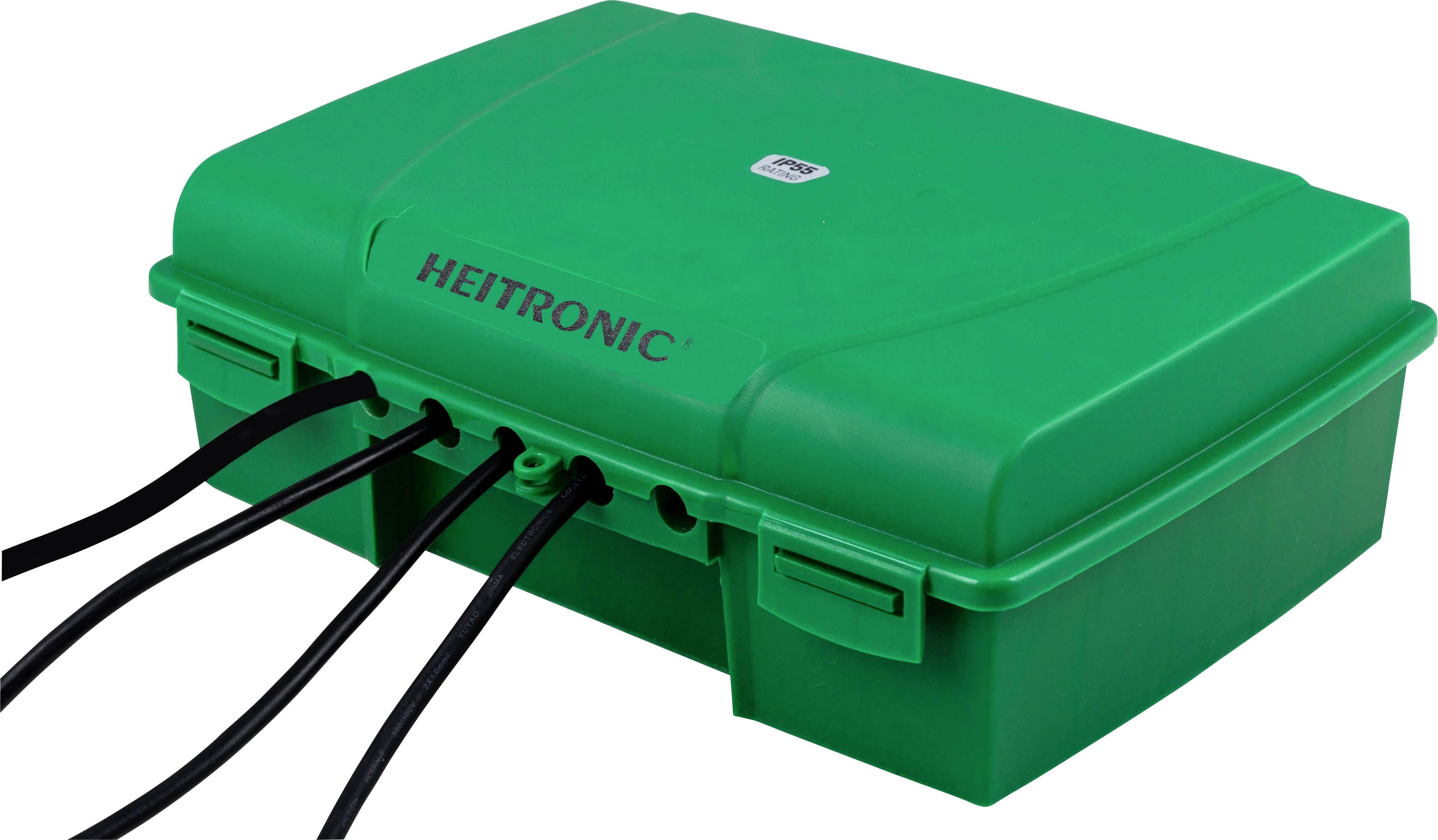 Rozváděč Heitronic Verteilerbox 21046, zelená