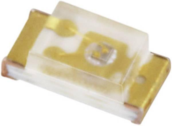 SMD LED Everlight Opto, 19-213/BHC-AN1P2/3T, 20 mA, 3,5 V, 120 °, 72 mcd, modrá