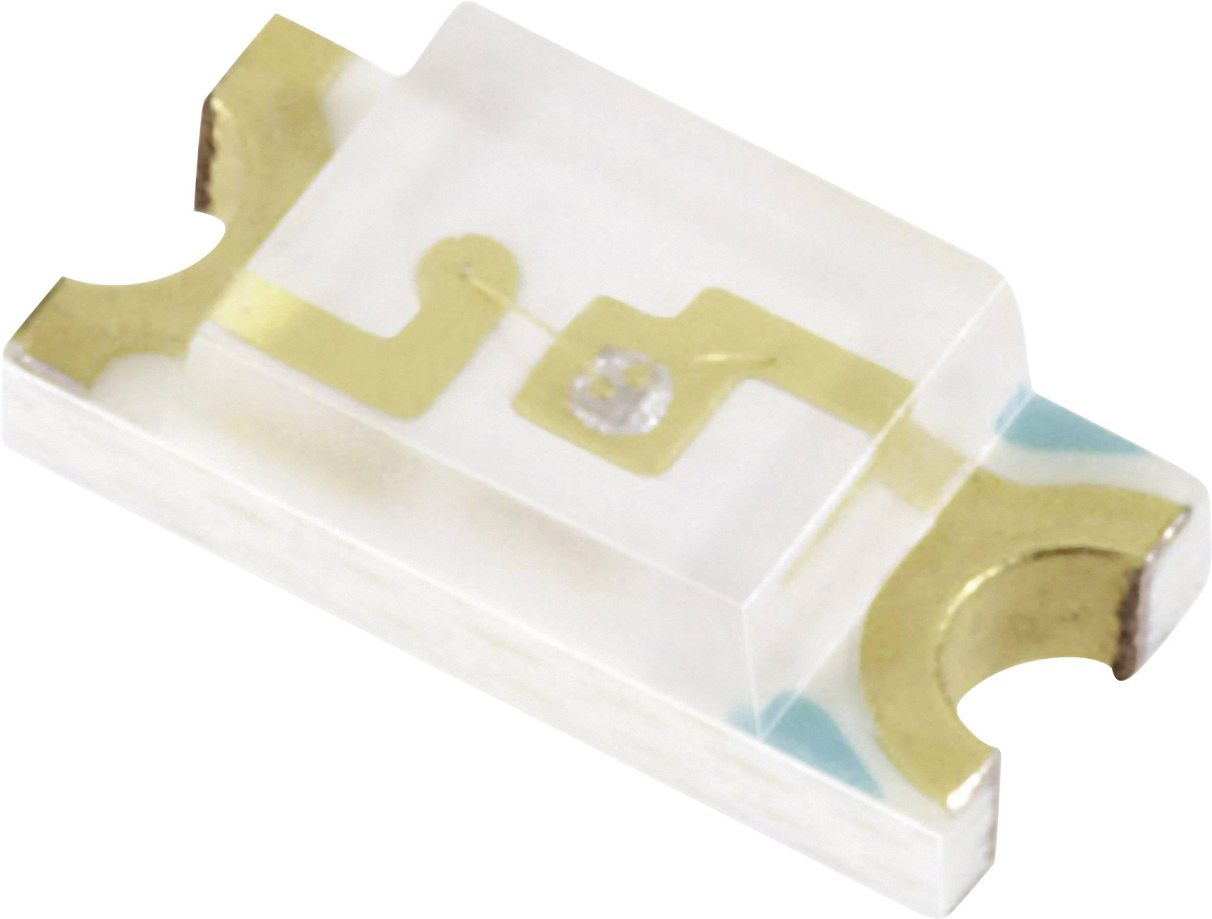 SMDLED Everlight Opto 15-21UYC/S530-A2/TR8, 39 mcd, 140 °, 20 mA, 2 V, 15-21UYC/S530-A2/TR8, žltá