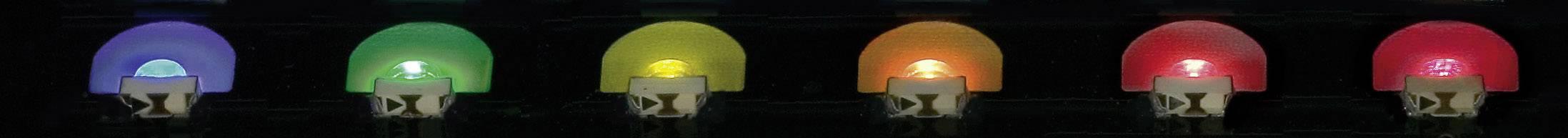 SMD LED speciální Everlight Opto, 12-215SURC/S530-A2/TR8, 20 mA, 2 V, 130 °, 48 mcd, červená