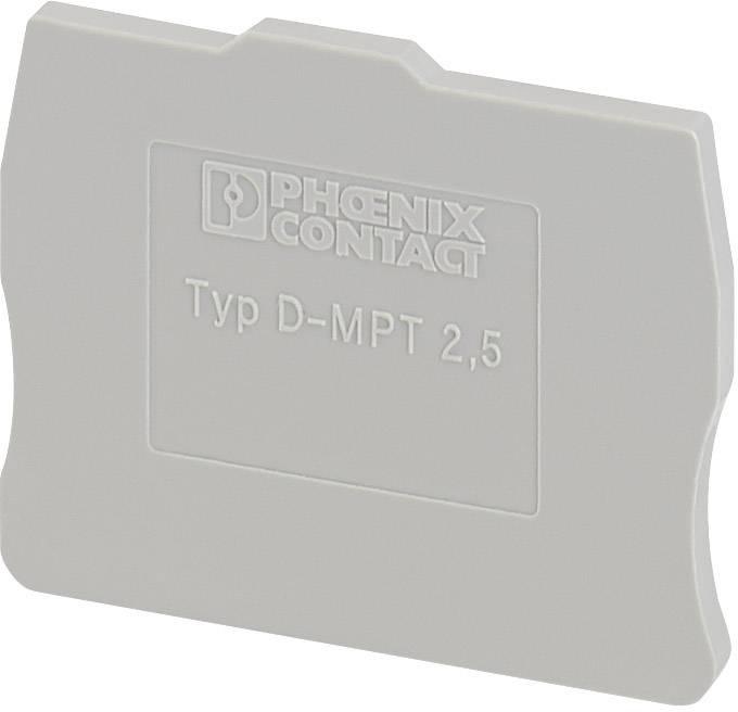 Koncová krytka D-MPT 2,5 Phoenix Contact D-MPT 2,5 3248140, 50 ks