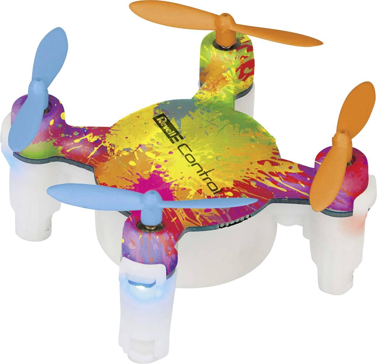 Dron pro začátečníky Revell Control Nano Quad Fun, RtF, barevný