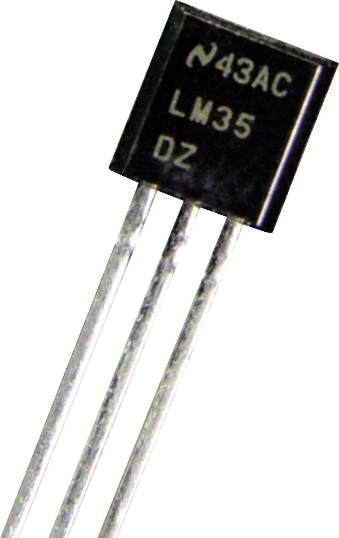 Teplotný senzor LM 35 DZ pre snímač relatívnej vlhkosti vzduchu