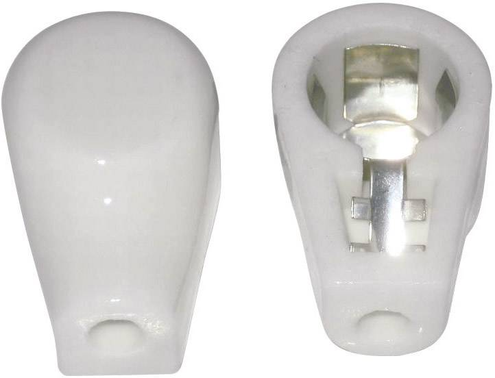Anodová čepička 1 ks 156802 Pólů: 1 Materiál:keramika 14 mm