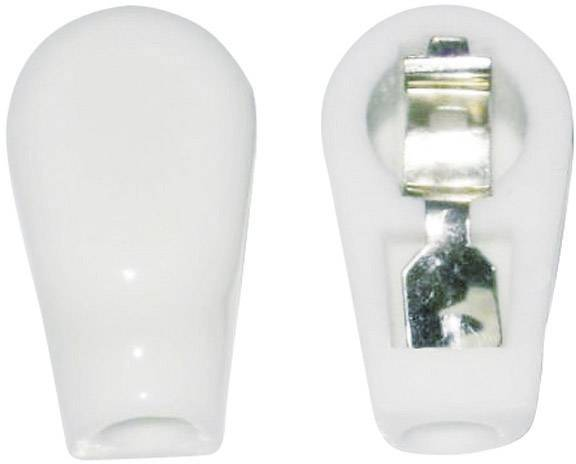 Anodová čepička 1 ks 156803 Pólů: 1 Materiál:keramika 6 mm