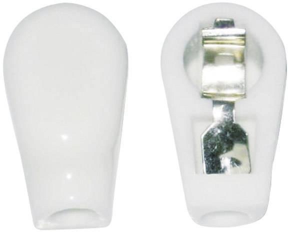 Anodová čepička 1 ks 156803 Pólů: 1 Způsob montáže: šasi Materiál:keramika 6 mm
