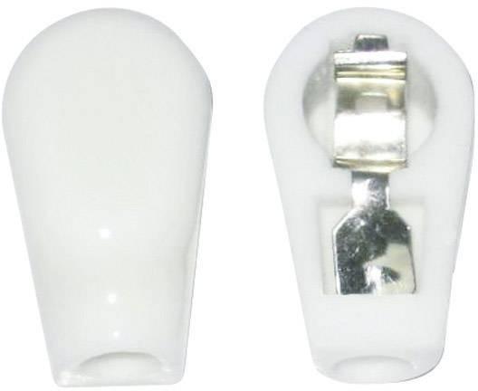 Anodová čepička 1 ks 156804 Pólů: 1 Způsob montáže: šasi Materiál:keramika 9 mm