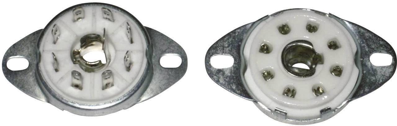 Elektronková patice, 8pinová, základna Loktal