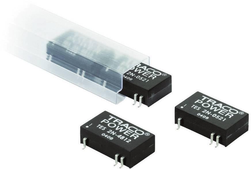 DC/DC měnič TracoPower TES 2N-0513, vstup 4,5 - 9 V/DC, výstup 15 V/DC, 135 mA, 2 W