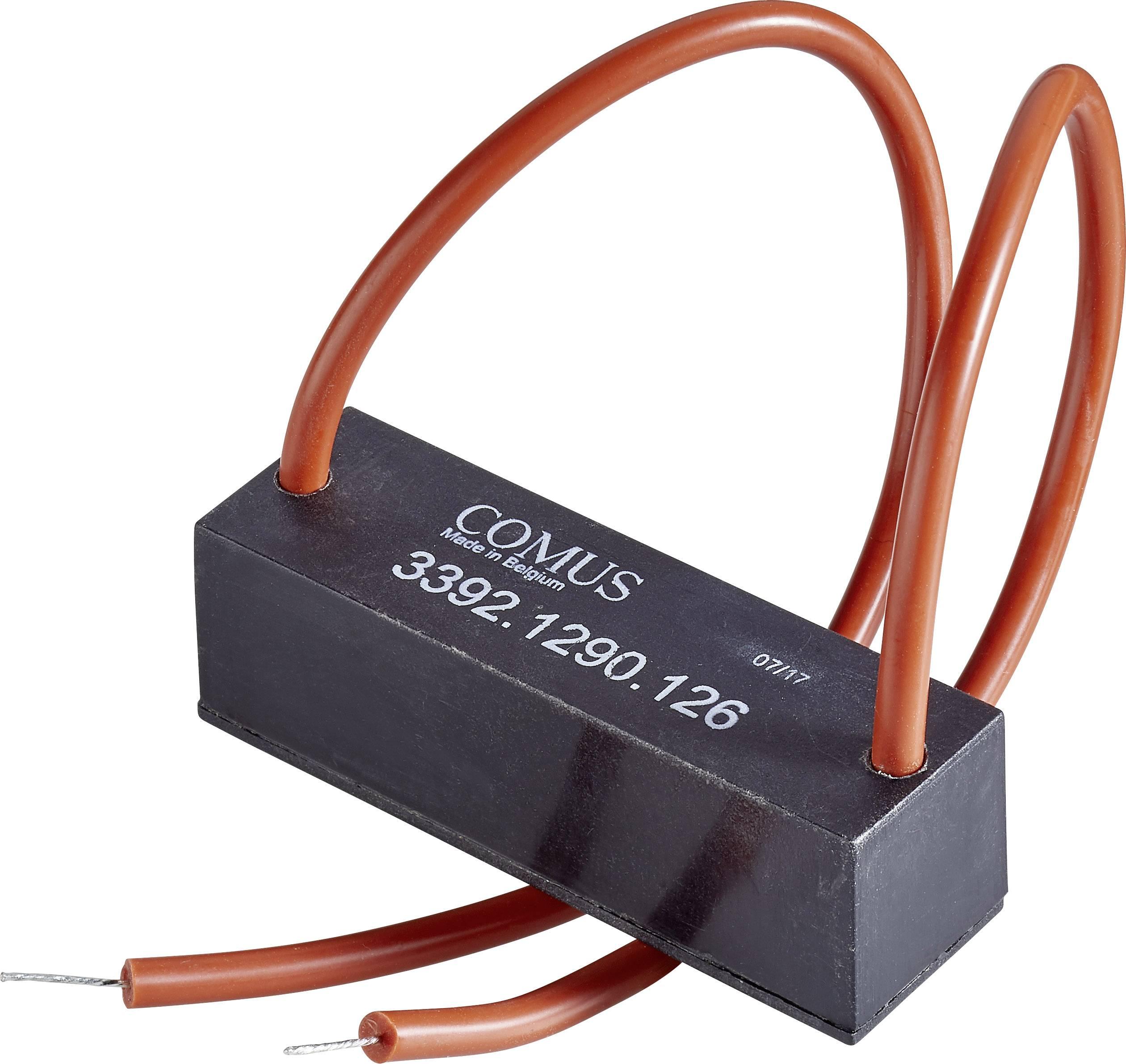 Relé s jazýčkovým kontaktem Comus 3392-1290-246, 3392-1290-246, 1 spínací kontakt, 24 V/DC, 3 A, 50 W