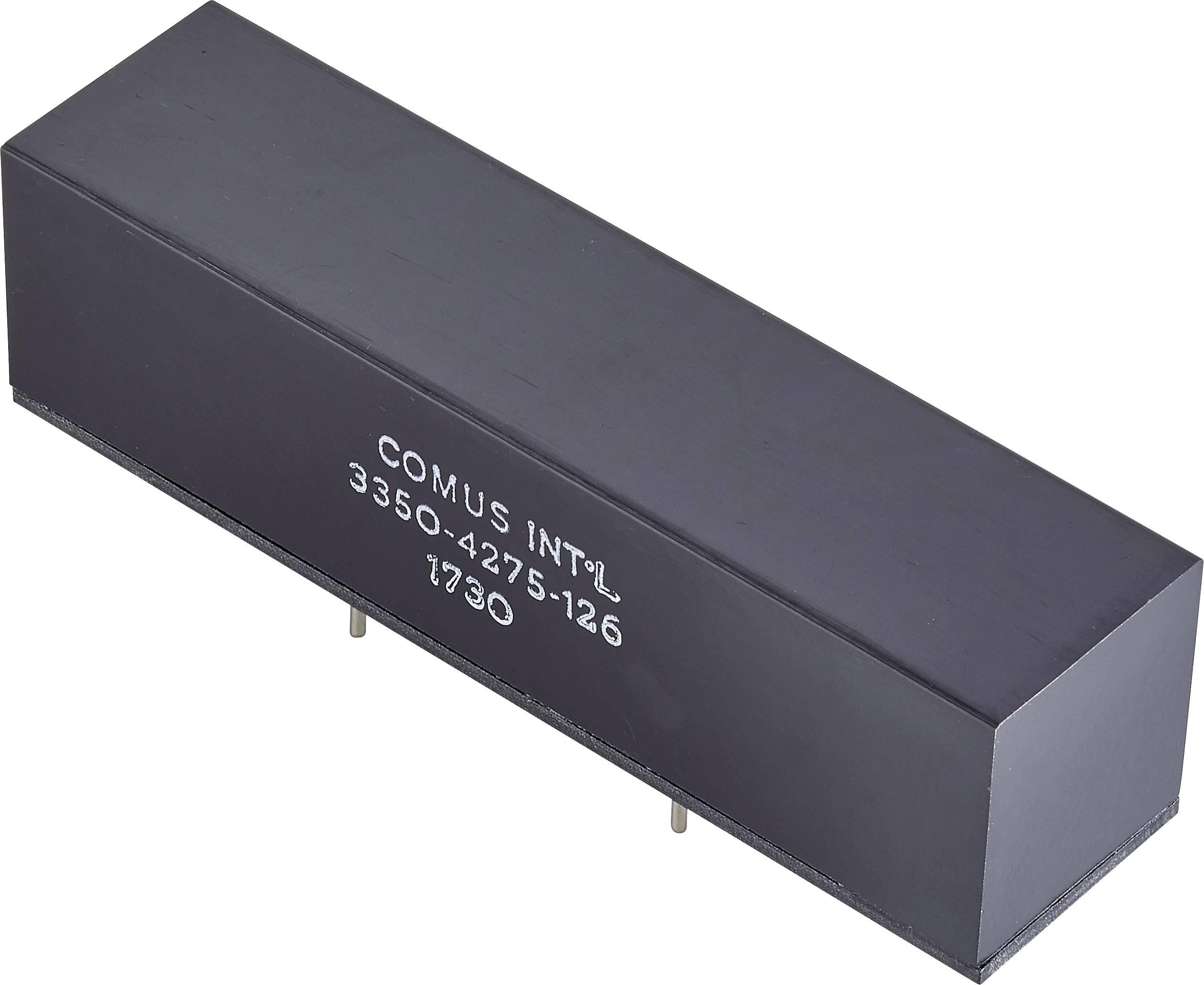 Relé s jazýčkovým kontaktem Comus 3350-4275-056, 3350-4275-056, 1 rozpínací kontakt, 5 V/DC, 3 A, 200 W