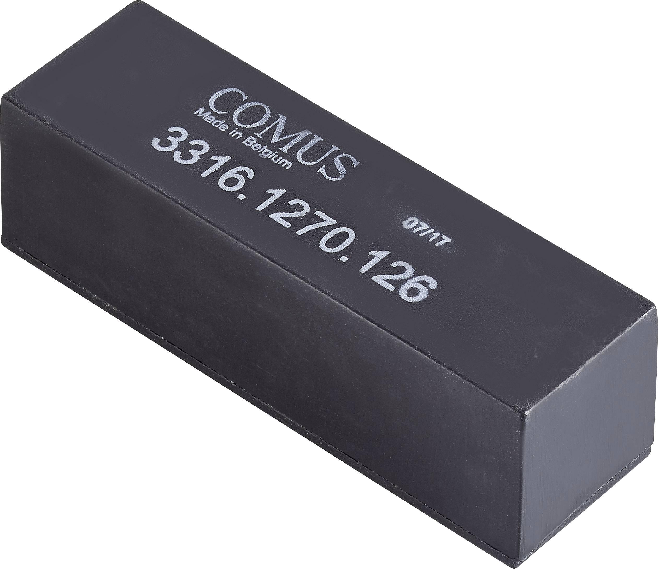 Relé s jazýčkovým kontaktem Comus 3316-1270-126, 3316-1270-126, 1 spínací kontakt, 12 V/DC, 1 A, 30 W
