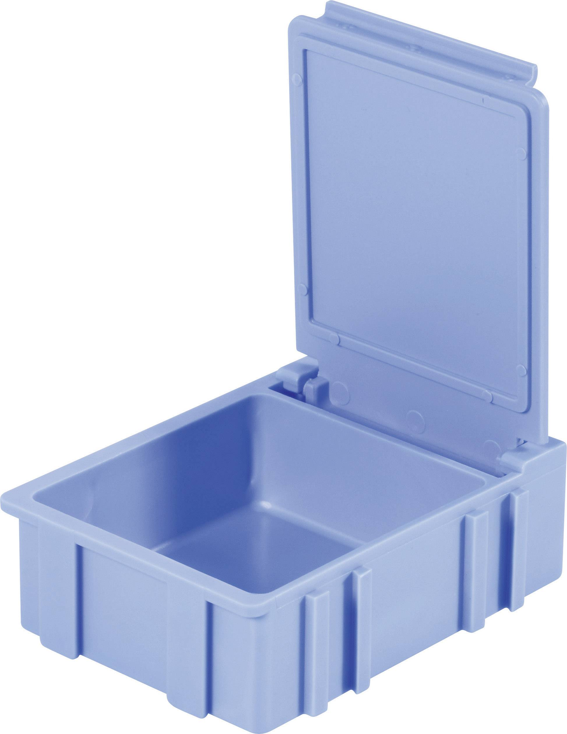 Box pro SMD součástky Licefa, N32288, 41 x 37 x 15 mm, modrá