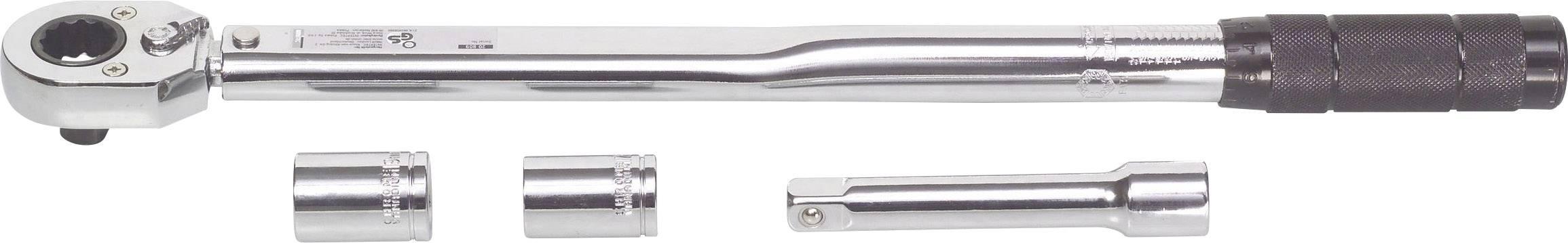 """Momentový klíč IWH 20809, 1/2"""" (12,5 mm), 28 - 210 Nm"""