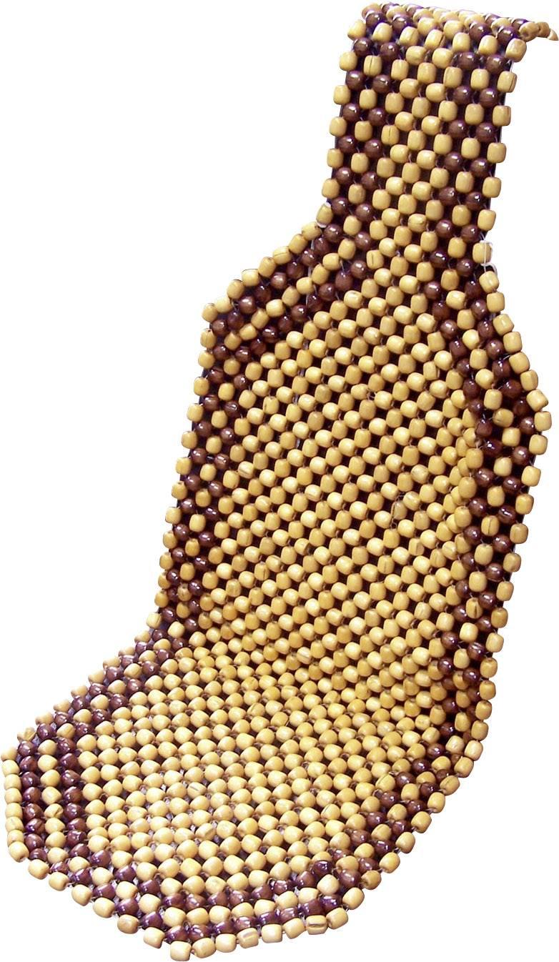Chladící podložka na autosedadlo IWH 11577, dřevo, hnědá